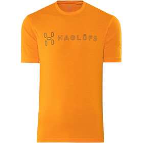 Haglöfs Ridge II - T-shirt manches courtes Homme - orange